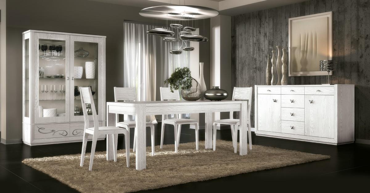 Moderni stolovi i stolice moderan design dane mobili - Vetrine moderne per sala da pranzo ...
